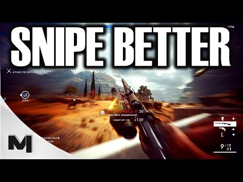 Snipe Better In Battlefield 1 (SPOTTING SCOPE)