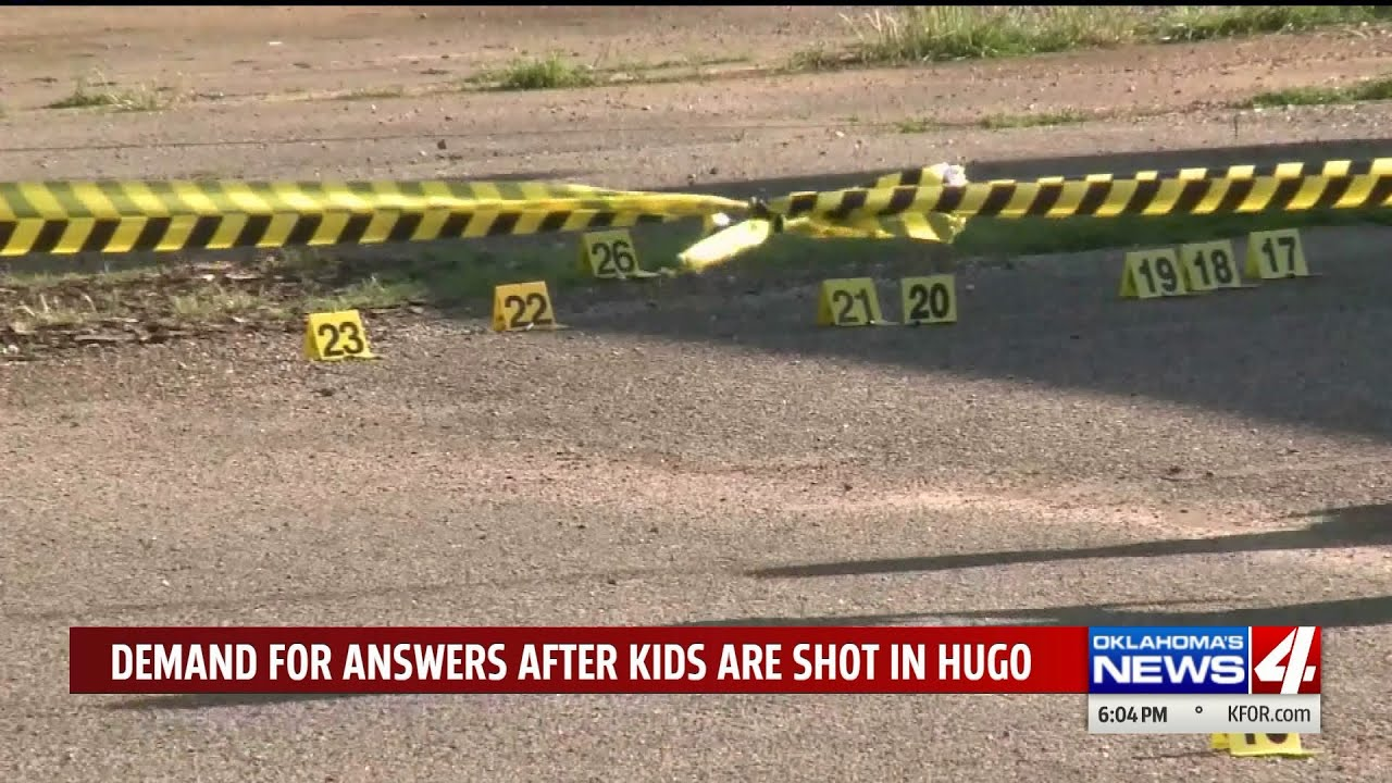 Oklahoma Town Outraged After Three Children Shot By Police