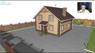Проект мансардного дома «Удобство» C-259-ТП
