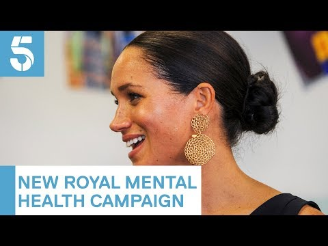 Meghan Markle and other young royals support mental health campaign | 5 News thumbnail