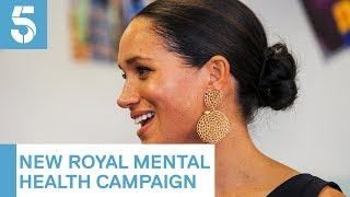 Meghan Markle and other young royals support mental health campaign | 5 News