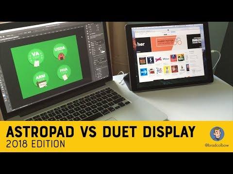 AstroPad vs Duet Display: 2018 Edition