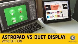 AstroPad vs Duet Display: 2018 Edition