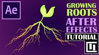 Tutorial: QUICK & EASY Growing Plant Roots | After Effects