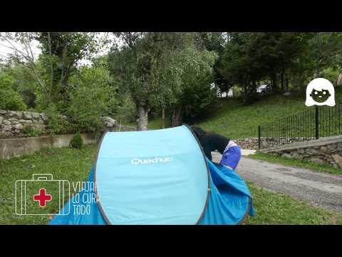 Cómo plegar tienda Quechua 2 seconds