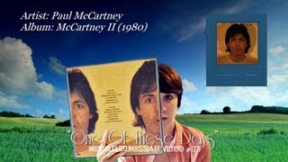 One Of These Days - Paul McCartney (1980)