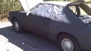 Spray Painting my Car With Spray Primer