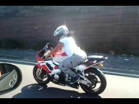 youtube motorcycle chicks SEXY THICK mOTORCYCLE chick....Bronx .. - YouTube