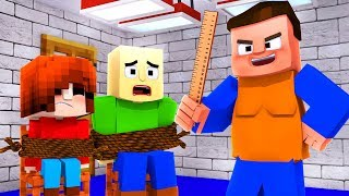 Monster School : BALDI'S BASICS IN LEARNING BULLY TAKES OVER BALDI'S SCHOOL - Minecraft Roleplay