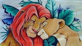 Simba e Nala – Câmera Rápida por Adilson G. Amaral