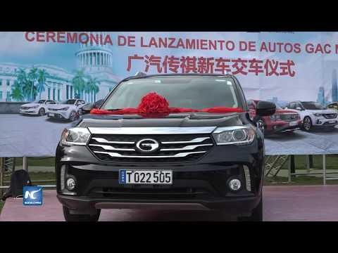Autos chinos GAC fortalecen servicio al turismo en Cuba