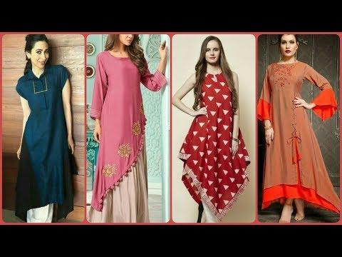 Latest & Gourgious Indian Wear Designer Muslim Long Kurtis Designs 2019