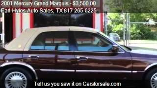2001 Mercury Grand Marquis LS Diamond Edition - for sale in