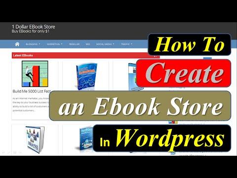 How to Create an Ebook Store in Wordpress