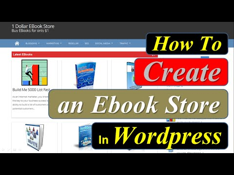 How To Create An Ebook Store In Wordpress