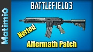 Aftermath Patch - M416 Nerfed (Battlefield 3 Gameplay/Commentary)