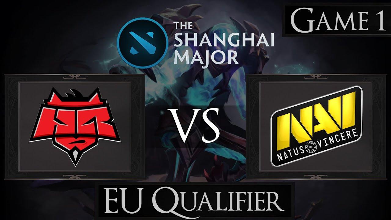 dota 2 hellraisers vs na vi shanghai major 2016 youtube