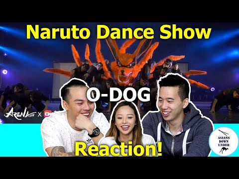 Naruto Dance Show by O-DOG (Front Row)   ARENA CHENGDU 2018   Asians Down Under   Reaction Video