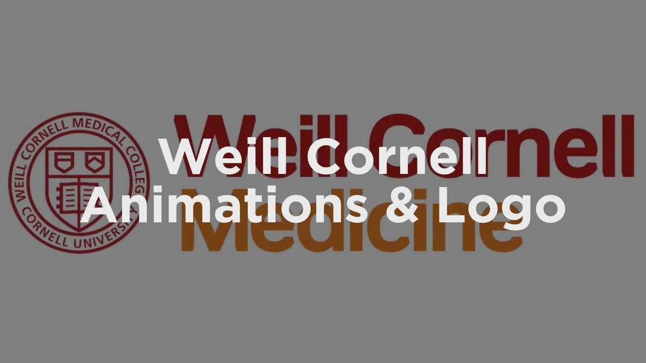 WEILL CORNELL ANIMATIONS & LOGO - YouTube