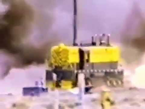 Restored Version 720HD - Rocket Powered Train Impact Test of Spent Nuclear Fuel Shipping Cask from YouTube · Duration:  1 minutes 49 seconds