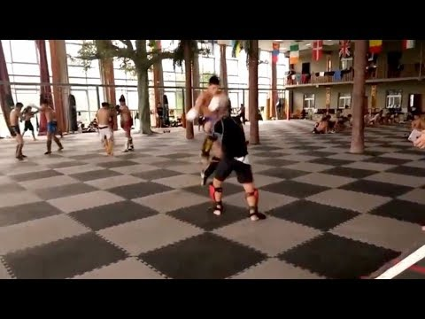 Xu Xiaodong Gets Destroyed By Muay Thai Kickboxer - YouTube