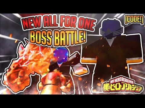 New Special Code Boku No Roblox Remastered New Villain Base Weak Noumus And All For One 2 New Special Codes All For One Boss Battle Too Op Villain Base Boku No Roblox Remastered Youtube