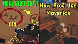 NEW Ela * Zero Recoil * Buff Is Insane | How To Use Maverick Like A Pro Player - Rainbow Six Siege