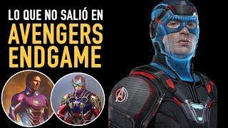 Lo que no salió en Avengers Endgame
