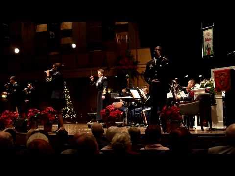 """The United States Army Europe Band  """" Weihnachtskonzert """" Karlsruhe Kongresszentrum  9.12.2009"""