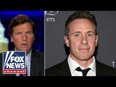 Tucker calls out CNN's Chris Cuomo's blatant mask hypocrisy