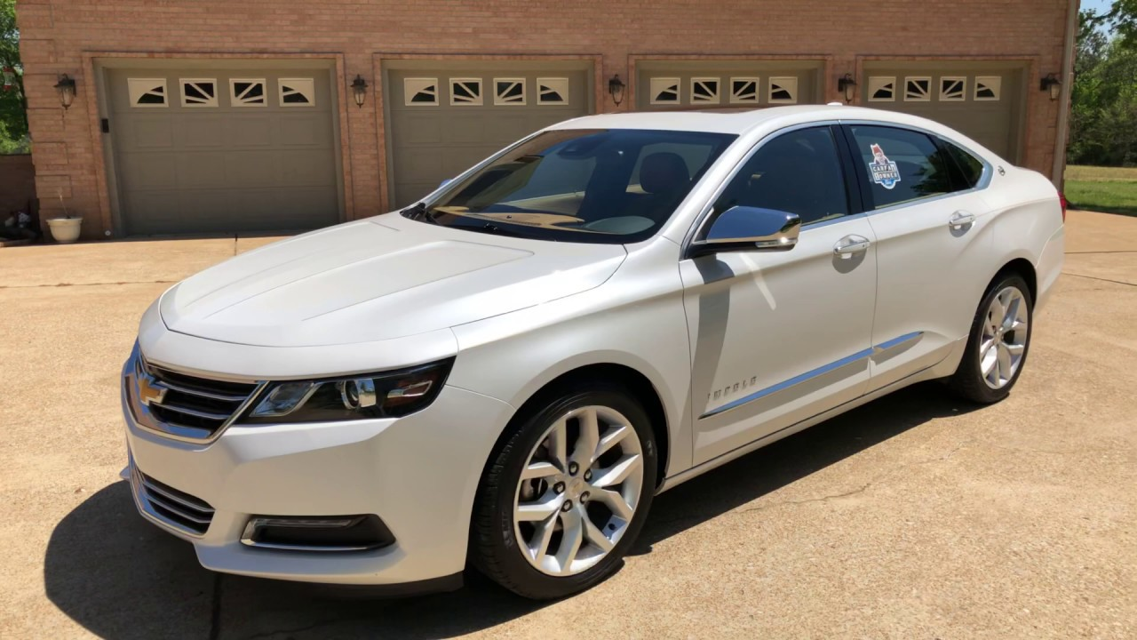 Tn 2015 Chevrolet Impala Ltz 2lz Pearl White Navigation Sunroof For Sale Price Www Sunsetmotors Com Youtube