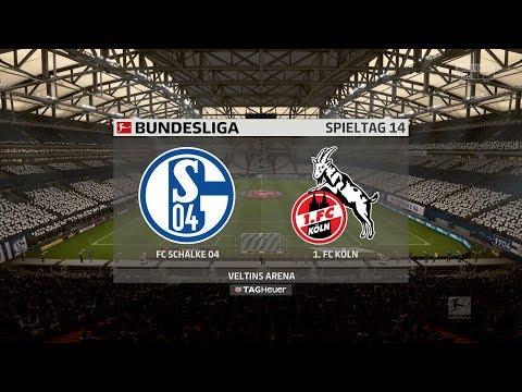 FIFA 18 Bundesliga Prognose | FC Schalke 04 - 1. FC Köln