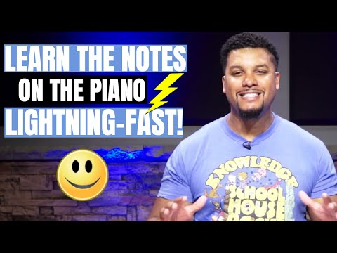 Video Lesson: How to Identify the Note Names of the Piano Quick and Easy!