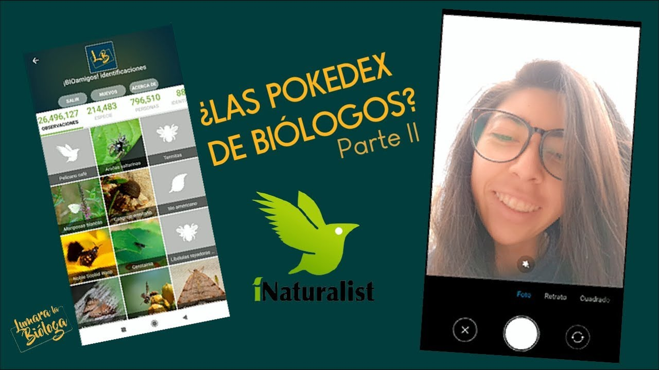¿Pokedex Biológico? | iNaturalist: app review