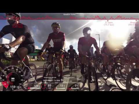 Tour de Barelang 2017, 6 Bridges, B6B, Cat 2 - 54th, dropped!