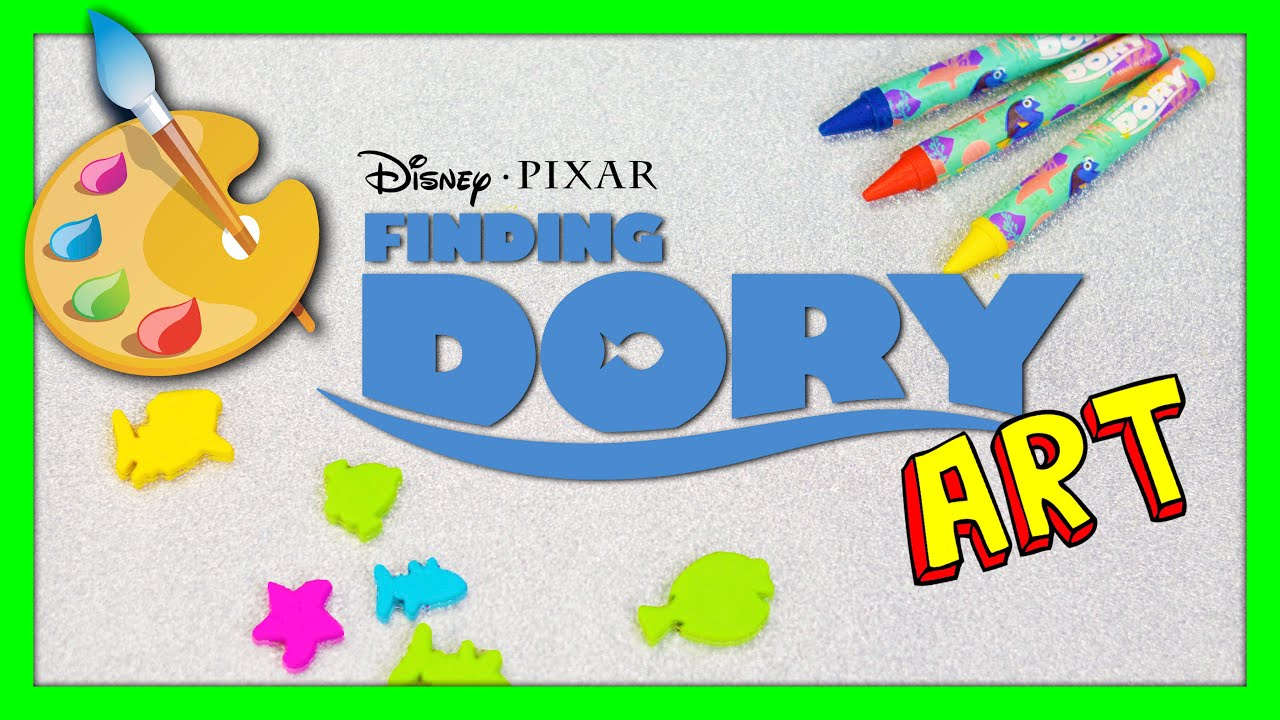 Finding dory pixar dory art activity can do it yourself art projects finding dory pixar dory art activity can do it yourself art projects for kids video youtube solutioingenieria Choice Image