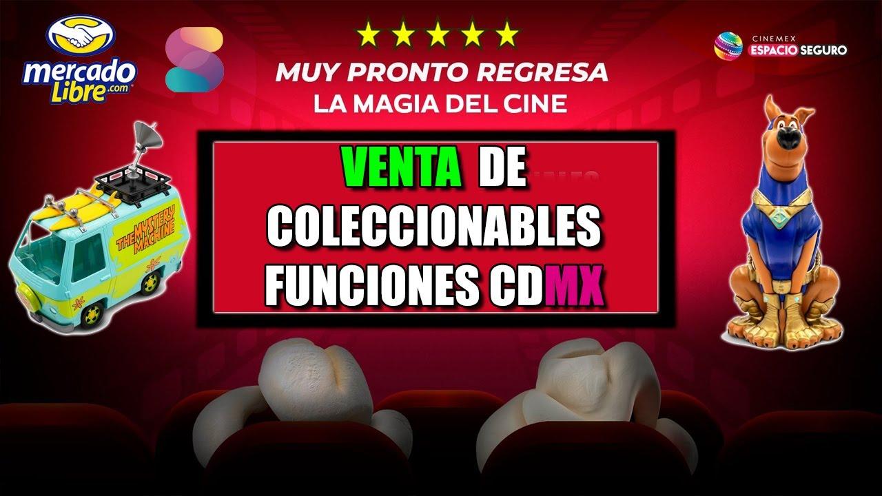 CINEMEX ya tiene funciones en CDMX | SABERIN Vende promocionales