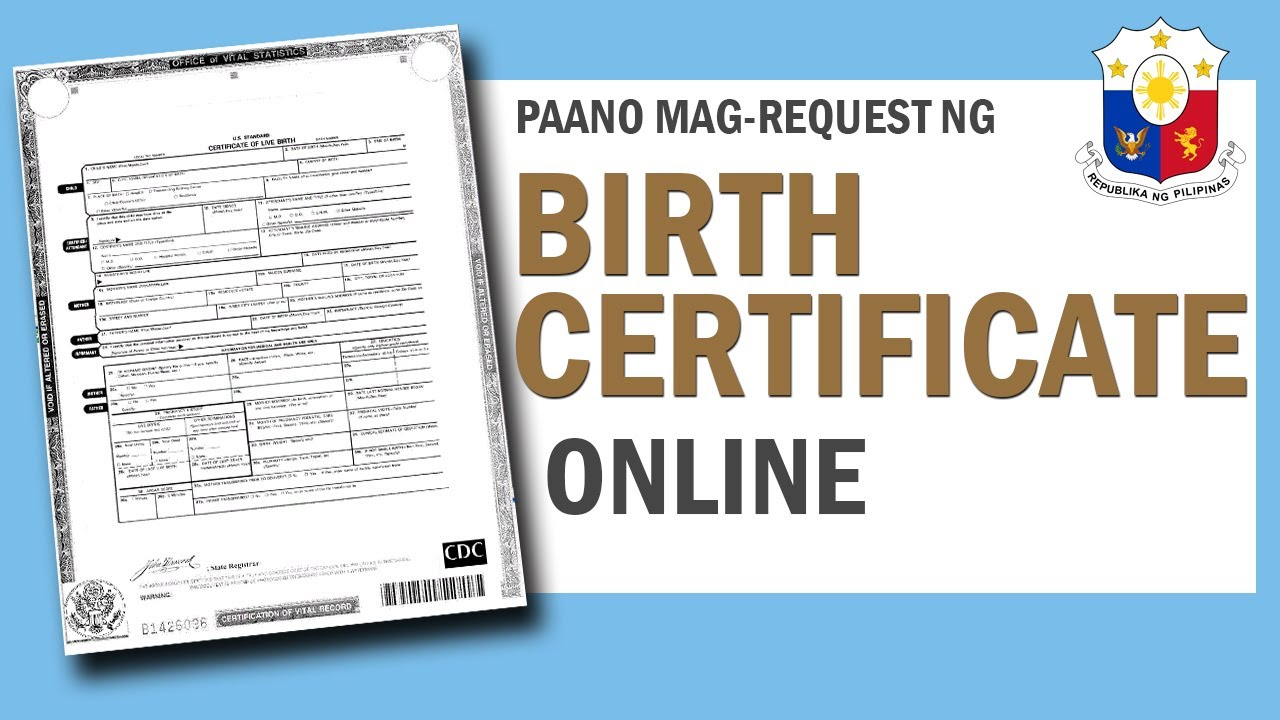 Paano mag request ng birth certificate gamit ang internet o online paano mag request ng birth certificate gamit ang internet o online how to get a birth certificate aiddatafo Image collections