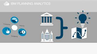 IBM Planning Analytics for planning, budgeting, forecasting, analysis and scorecarding