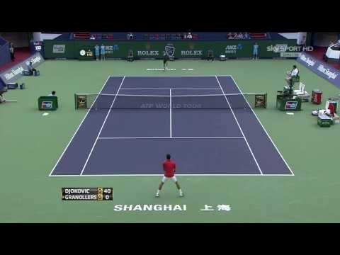 Novak Djokovic Vs Marcel Granollers Shanghai 2013 R2 HIGHLIGHTS HD]