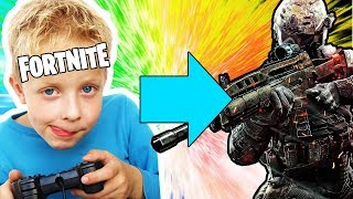 The Little Fortnite Kid Who's Trying Out Blackout