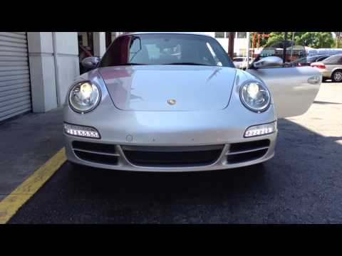 Porsche 997 Smoked Led Tail Lights Bumper And Sidemarker