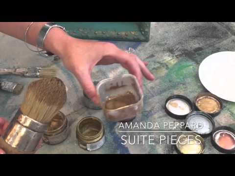 How to apply gilding wax