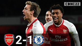 Arsenal vs Chelsea 2-1 All Goals and Highlights 2018 Carabao Cup (EFL)