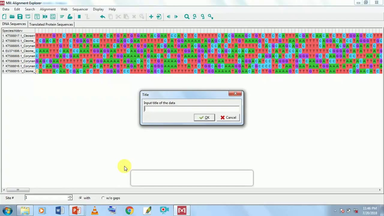 How to use Molecular evolutionary Genetic Analysis (MEGA) software