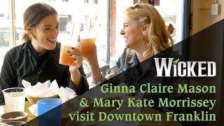 Ginna Claire Mason Takes Mary Kate Morrissey Out in Franklin