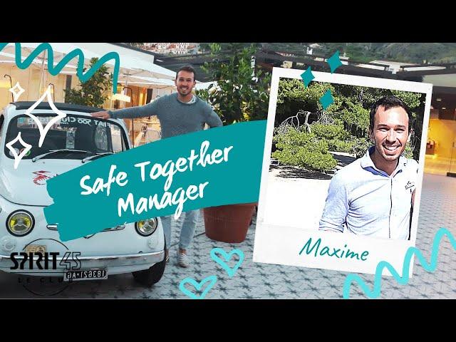 Club Med Vittel - Maxime DEBERT - Safe Together Manager - travailler au Club Med