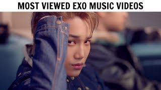 [TOP 30] Most Viewed EXO Music Videos | January 2019