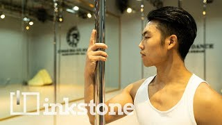 From construction worker to China's pole dance king