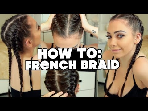 HOW TO: FRENCH BRAID STEP BY STEP FOR BEGINNERS